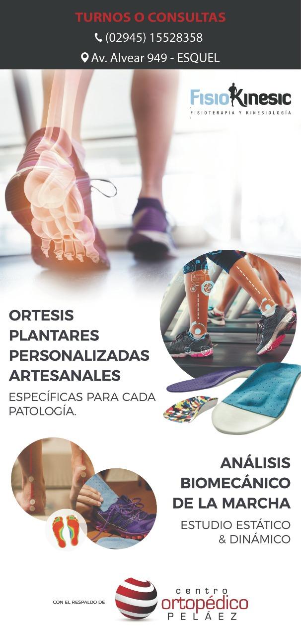 Fisiokinesic kinesiología en la guia esquel
