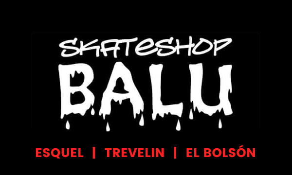 Balú skate en La Guia Esquel