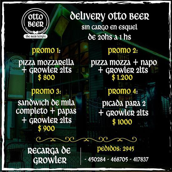 Otto Beer delivery en La Guia Esquel