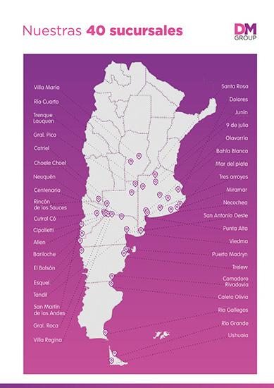Cuotas Del Sur en La Guia Esquel