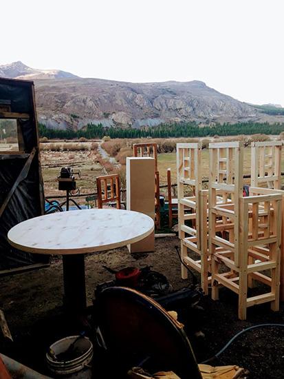 Carpintería Monte de Sion en La Guia Esquel