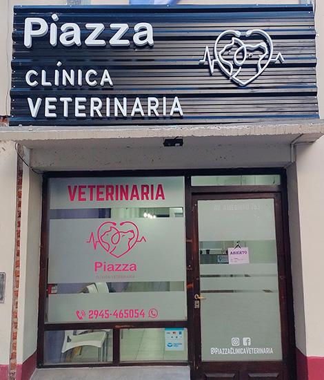 Piazza Clinica Veterinaria en La Guia Esquel