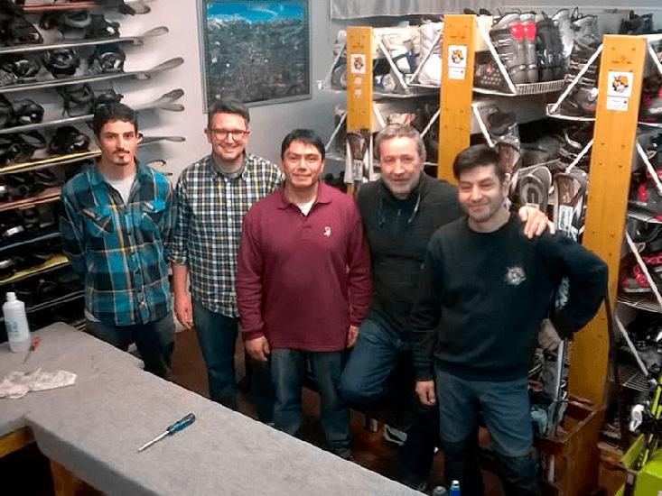 Rossi Ski Rental en La Guia Esquel